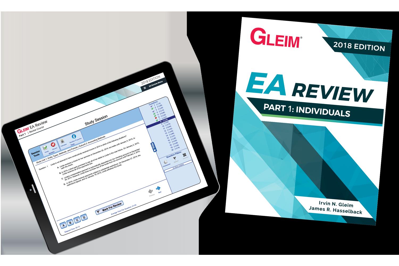 Gleim EA Review Book & Test Prep Online – Part 1 (2018) - #OAB3861S