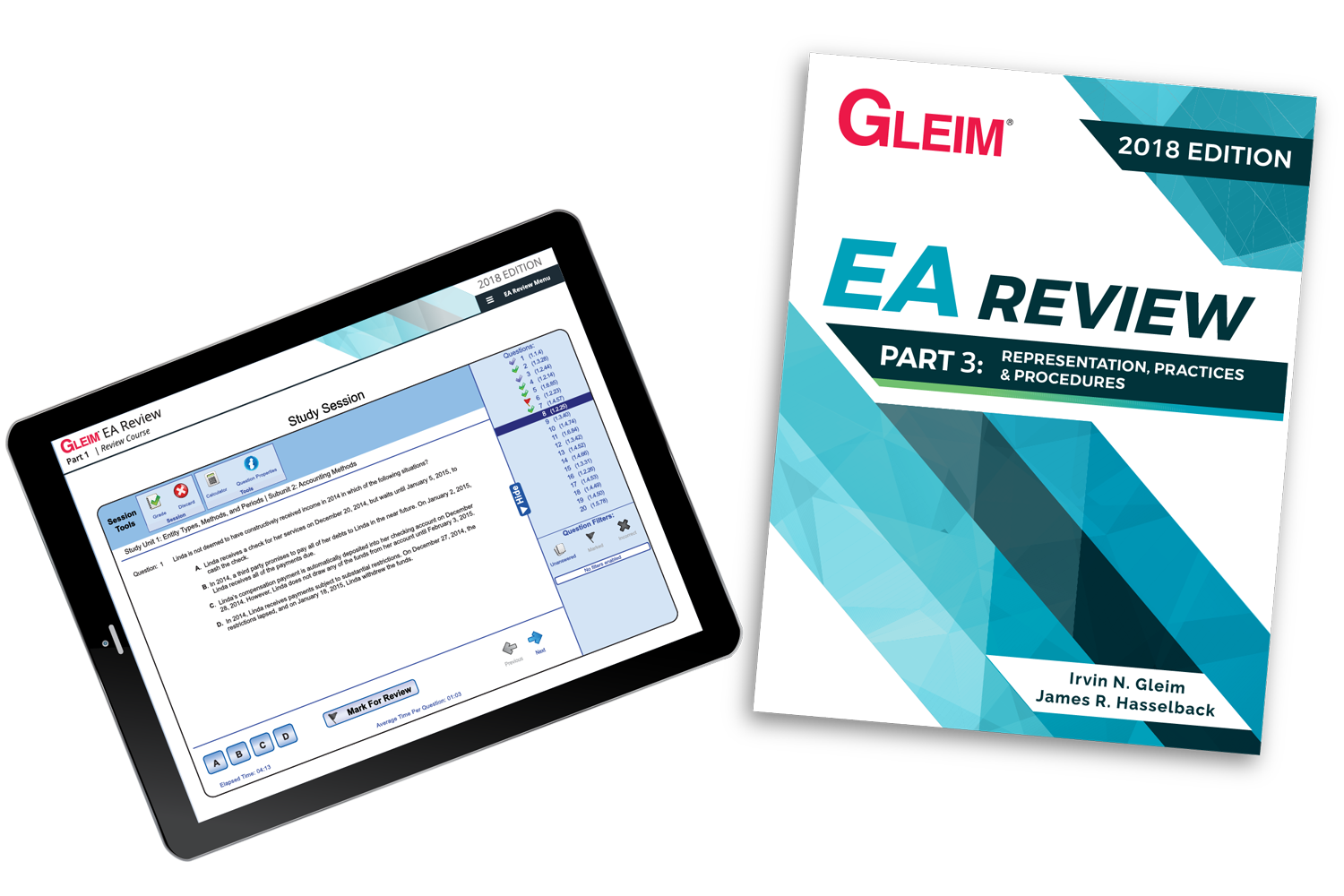 Gleim EA Review Book & Test Prep Online – Part 3 (2018) - #OAB3863S