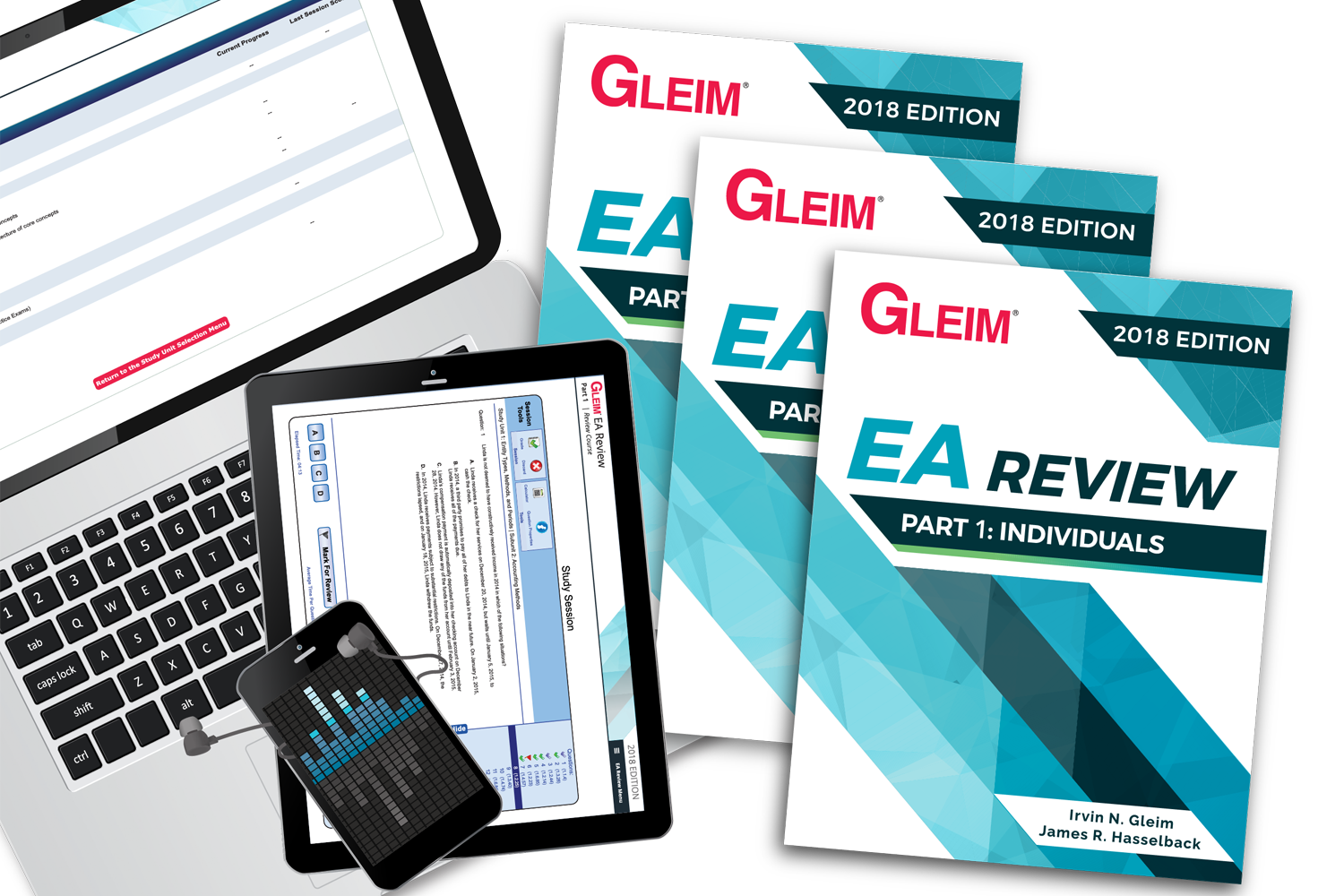 Gleim Support: Updates: EA Review Books