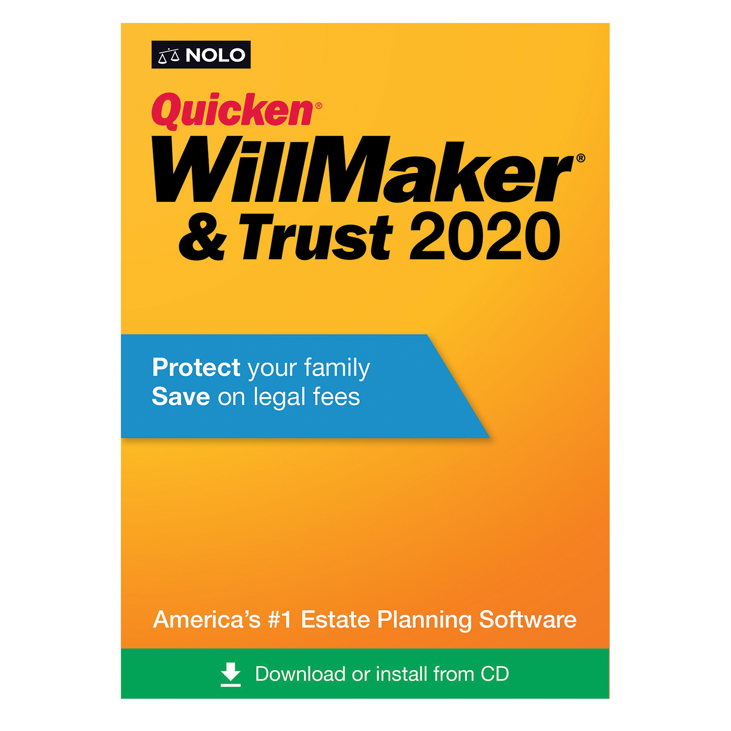 Nolo Quicken WillMaker & Trust (2020) - #OAE4874