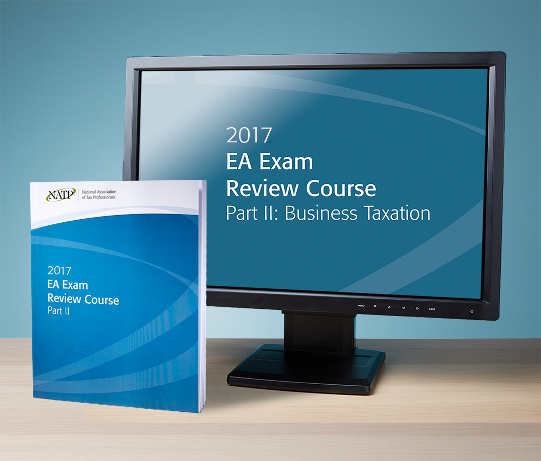 EA Exam Review Course Part II Streamed Recording & Textbook (2017) - #RB3704