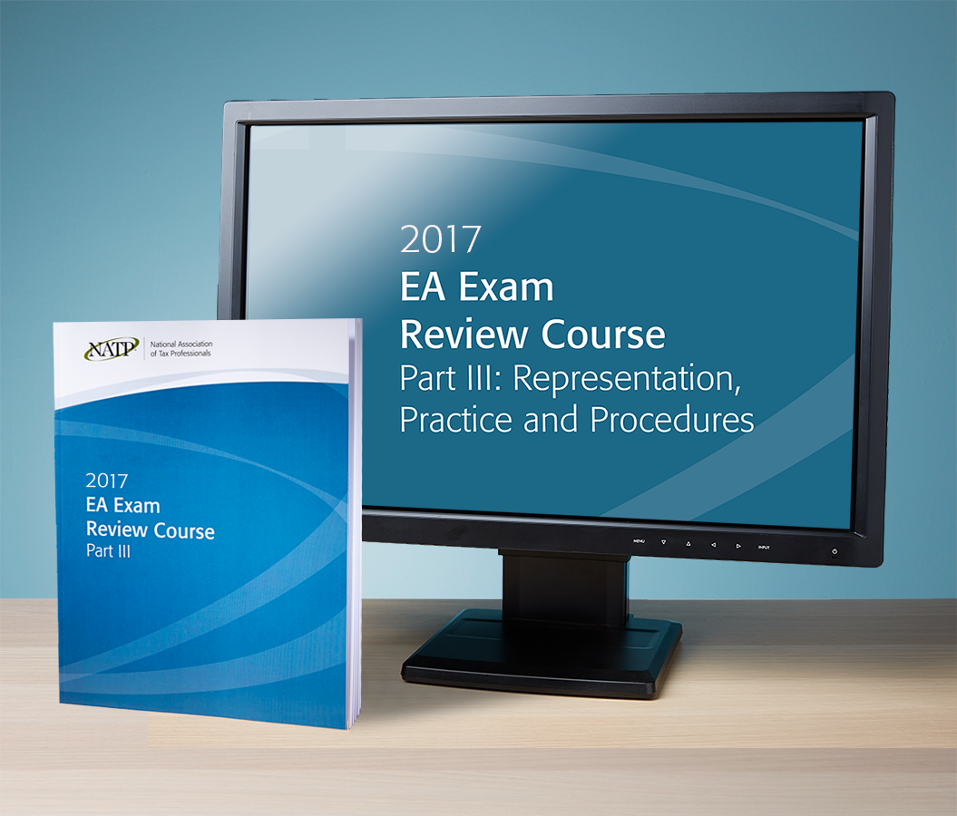 EA Exam Review Course Part III Streamed Recording & Textbook (2017) - #RB3705