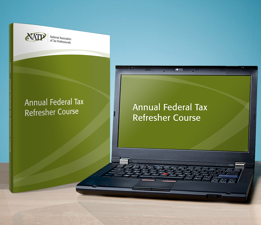 Annual Federal Tax Refresher Textbook and Workshop Streamed Audio Recording Course Set (2016) - #RB4640
