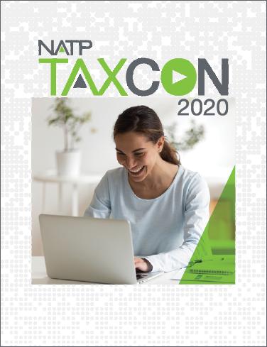 2020 TaxCon Session Handouts - #TC2020Book