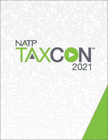 2021 TaxCon Session Handouts - #TC2021Book