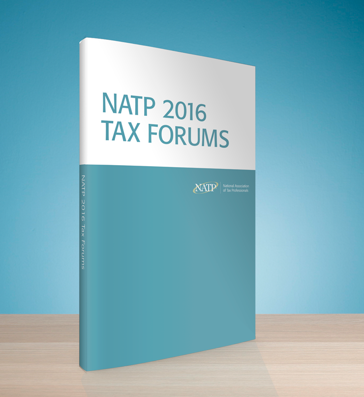 Tax Forums Presentations Slides Textbook (2016) – #TF16BOOK
