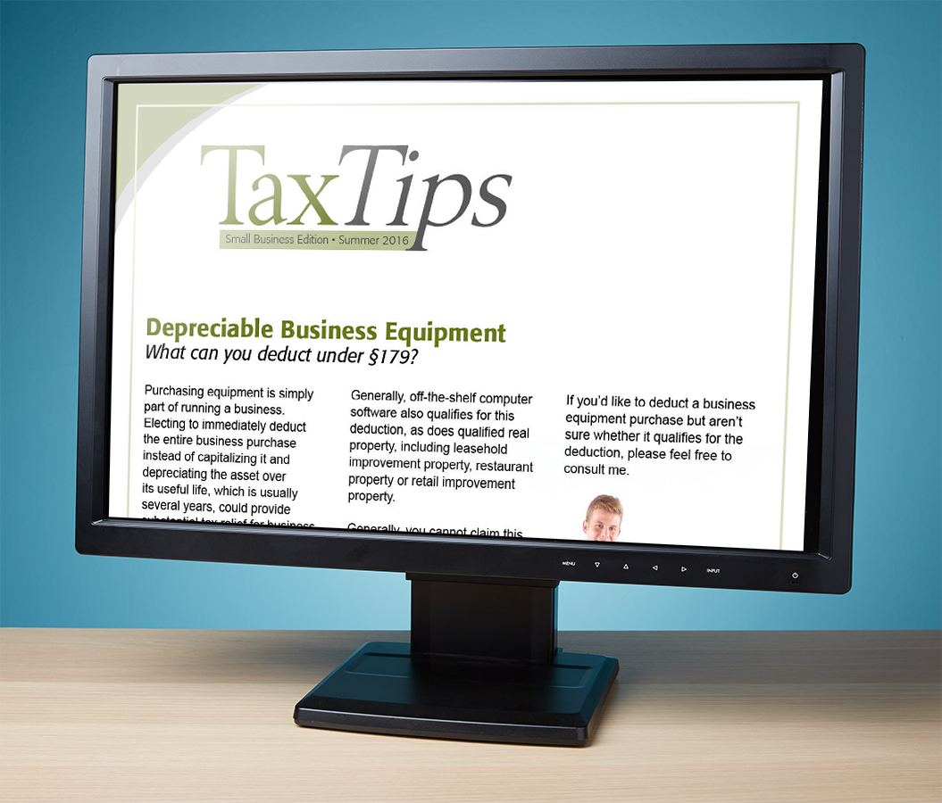 Tax Tips Client Newsletters – Downloadable – (Summer 2016) - #TTD3620