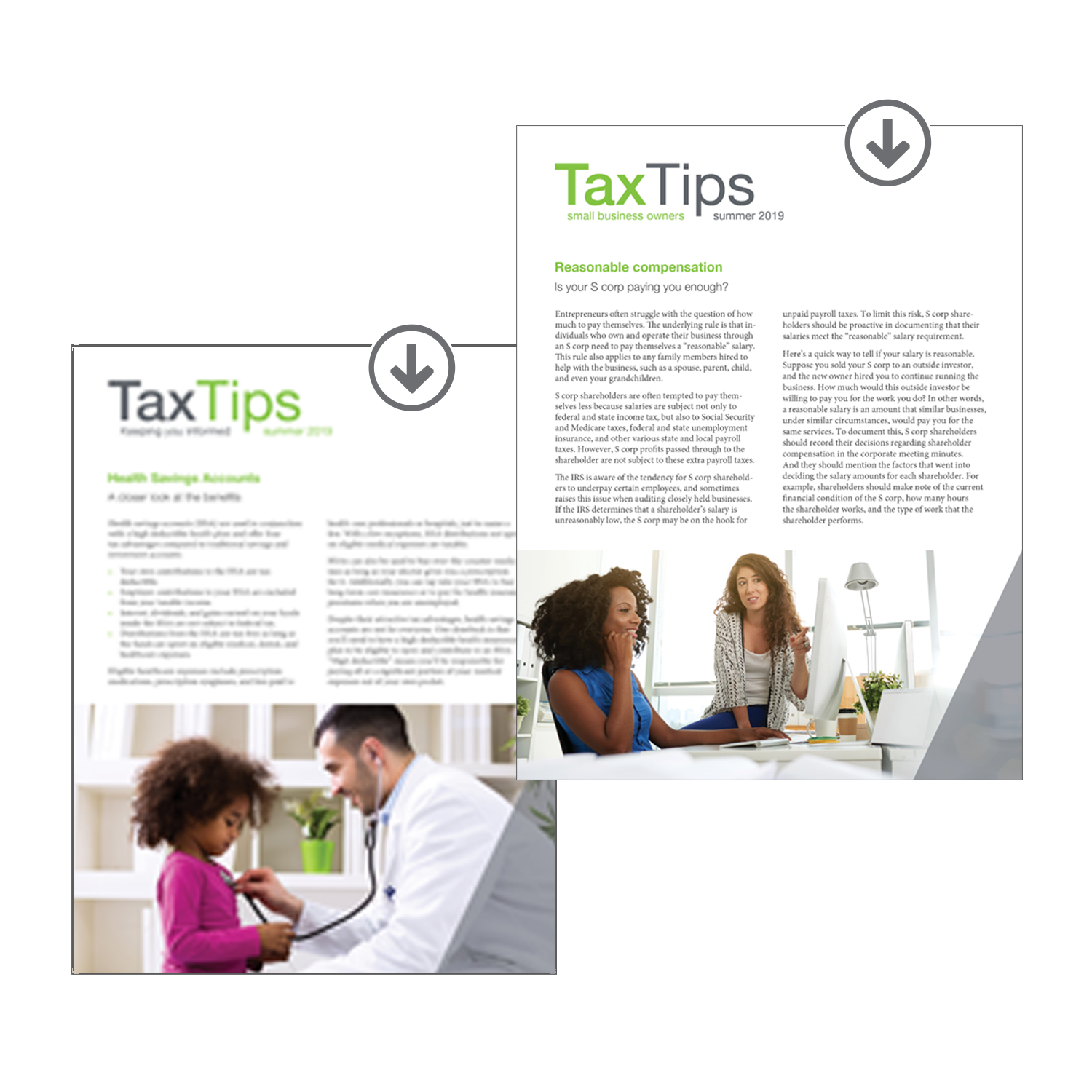 Tax Tips Client Newsletters – Downloadable – (Summer 2019) - #TTD3920
