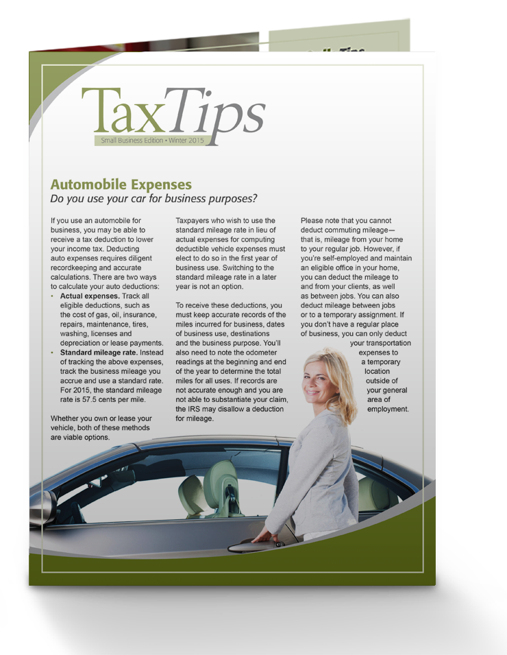 Tax Tips – Business – Single Fold - (Winter 2016/17) - #TTSB3630