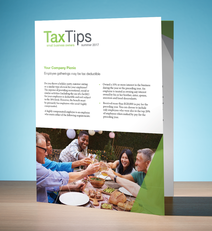 Tax Tips - Business - Single Fold (Summer 2018) - #TTSB3810