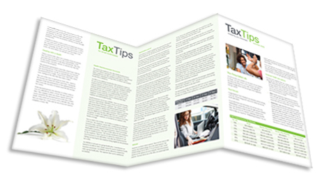 Tax Tips – 6-Page Individual/Small Business Combo Client Newsletter – Tri-Fold - (Summer 2020) - #TTT32010