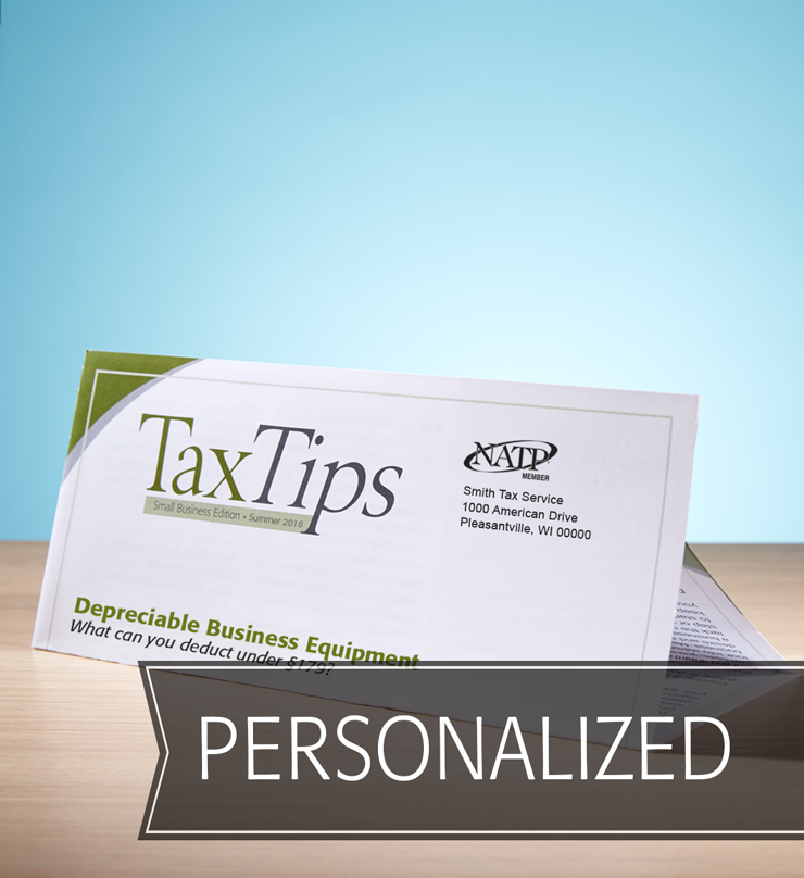 Tax Tips – Business – Tri-Fold - Personalized (Summer 2016) - #TTTB3615